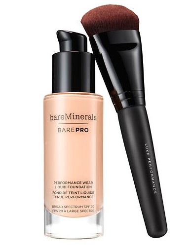 BarePro Performance Wear Liquid Foundation SPF20. Image via bareMinerals.