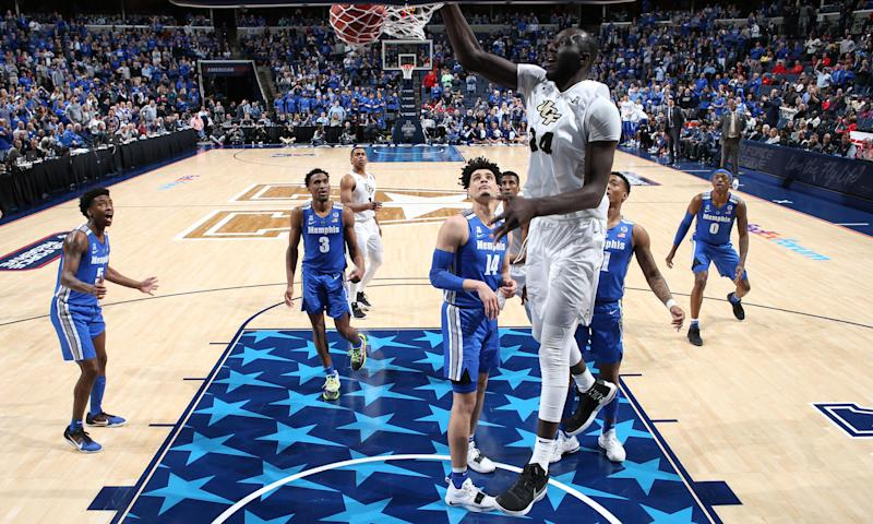 7ft 6in Tacko Fall has scorched college basketball – but is he too tall for NBA?