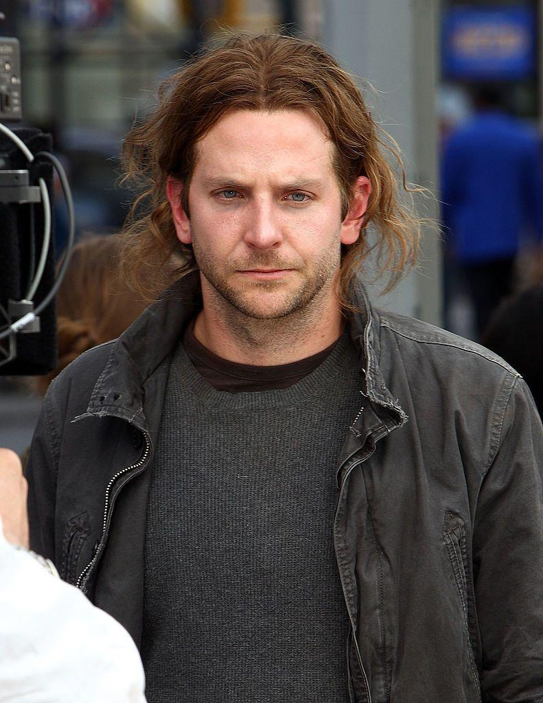 <p>Luckily for Cooper, he only had to wear this hairstyle while on set for a film. </p>