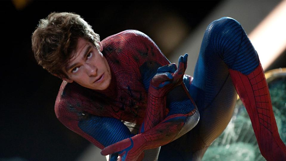 Andrew Garfield played Peter Parker in the 'Amazing Spider-Man' movies. (Credit: Sony)