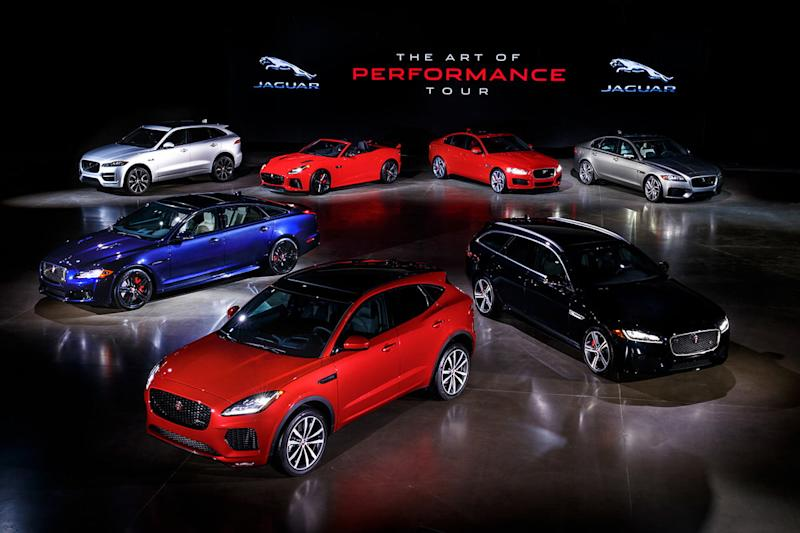 Jaguar performance tour