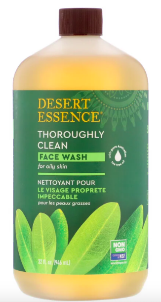 Desert Essence, Thoroughly Clean Face Wash, (946 ml), SG$23.91. PHOTO: iHerb