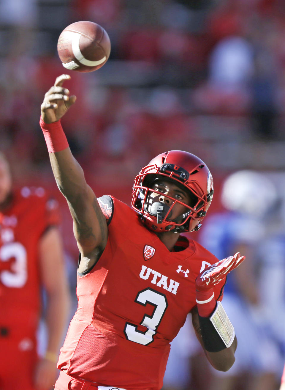 <p>Trending down: Troy Williams, Utah — 2017 is a big test for the talent Utah coach Kyle Whittingham brings to Salt Lake City. Just four starters return on the Utes' offense and three of the team's four leading receivers from a year ago are gone. Oh, and so is RB Joe Williams who averaged nearly 7 yards a carry in 2016. Can Troy Williams improve on his 53 percent completion percentage while also being the focal point of the offense? </p>