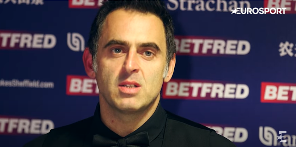 O'Sullivan has swapped potting for pavement pounding and is determined to better himself as a runner away from the baize