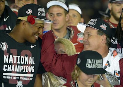Jameis Winston, Jimbo Fisher and the Seminoles have a favorable schedule in front of them this season. (AP)