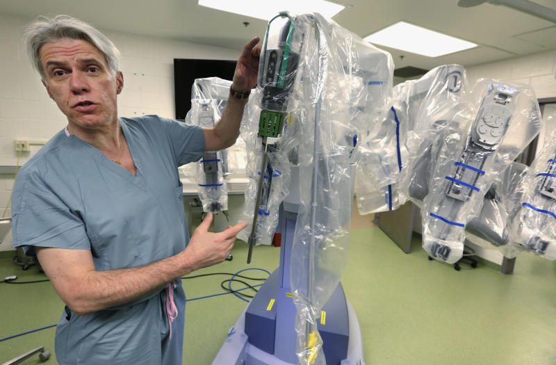 Should you have robotic surgery? Pluses, minuses