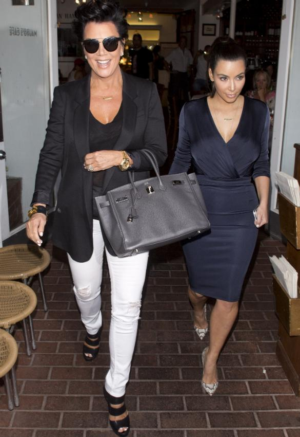Kanye West Sends Message To Kris Jenner 'Baby Kimye Isn't About Making Money?'