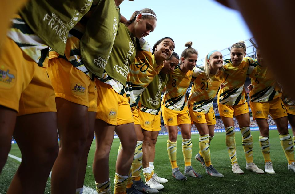 The Australian women's national team won its equal pay fight. What can the USWNT learn from the Matildas? (Photo by Hannah Peters - FIFA/FIFA via Getty Images)