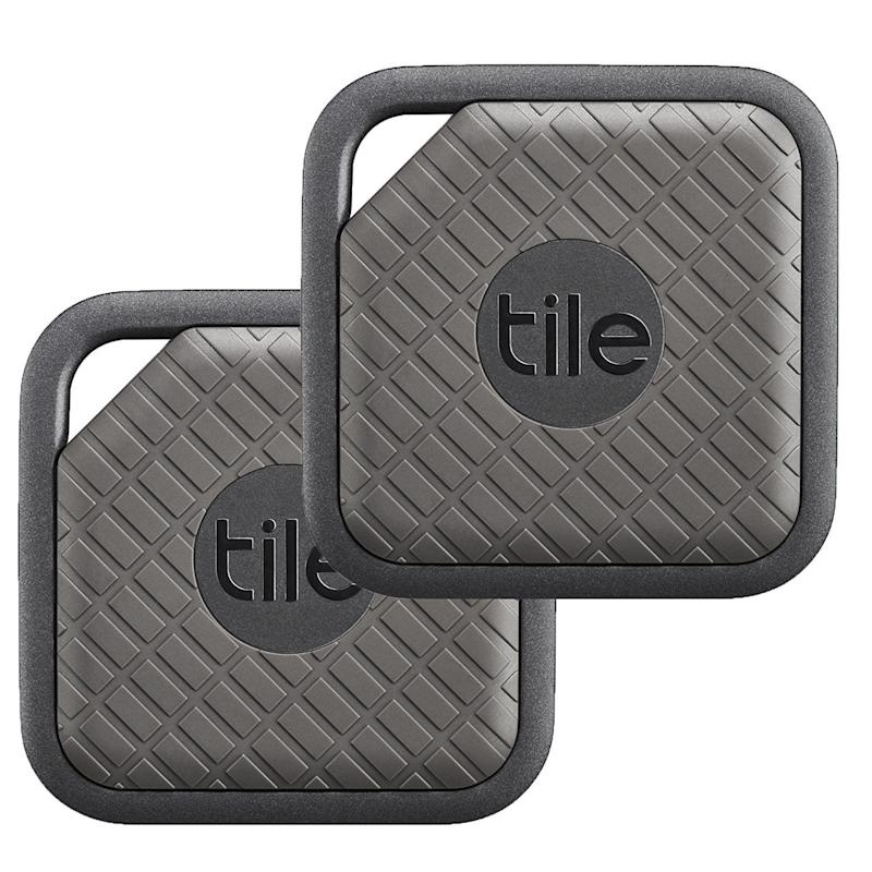 "You can even use them for phones, bags, and wallets.<br /><strong>Price: <a href=""https://www.amazon.com/Tile-Finder-Anything-Finder-Graphite/dp/B073QPRJ7G/?th=1"" target=""_blank"">$60 for a 2-pack</a></strong>"