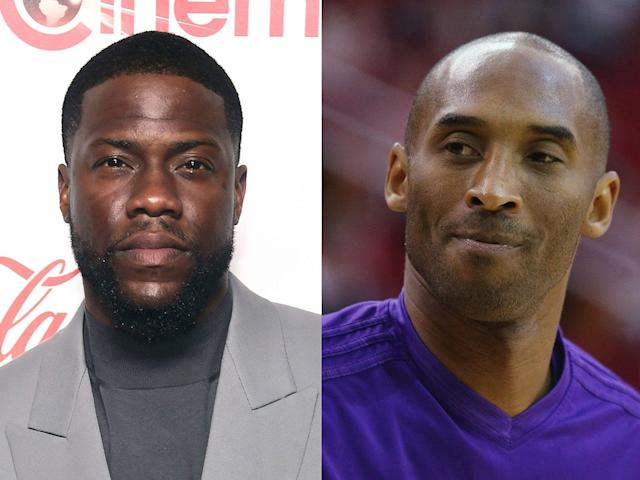 """Kevin Hart said he and the """"Black Mamba"""" — both of whom grew up in Philadelphia — went to Speedy Morris' LaSalle basketball camp."""