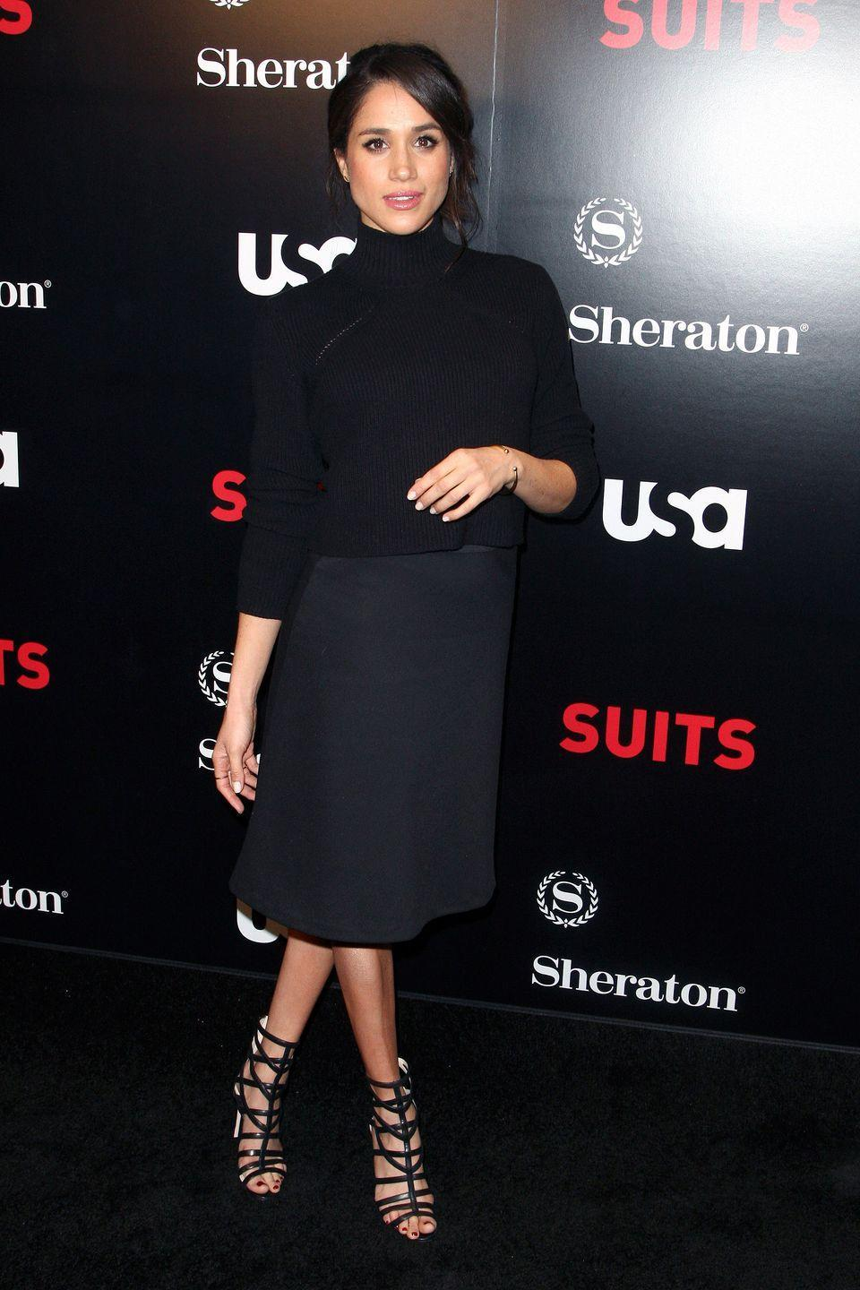 <p> One of the first things Meghan did after announcing her engagement was shut down her lifestyle blog, <em>The Tig</em>. Members of the royal family are not only prohibited from expressing political opinions, but they also aren't allowed to endorse or receive any personal products—so Meghan's archived posts describing her favorite skincare, snacks, and more had to go.</p>