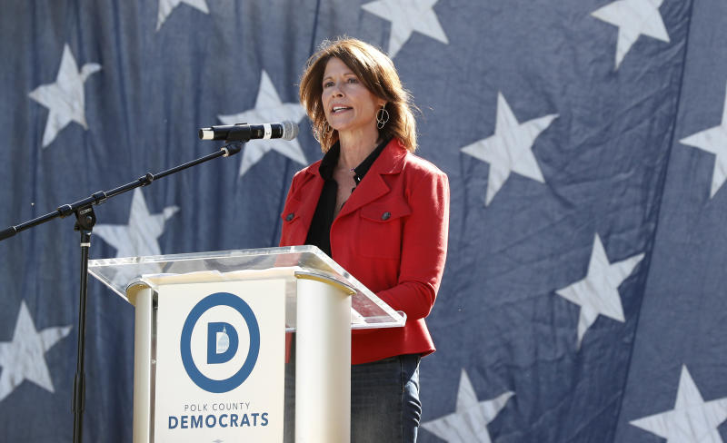 Rep. Cheri Bustos (D-Ill.) won her Midwest district by more than 20 points, even though it's a Trump stronghold. That's a pretty good skill to have for someone running to lead the DCCC.
