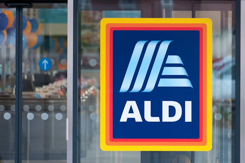 CARDIFF, UNITED KINGDOM - AUGUST 30: An Aldi shop sign seen on August 30, 2018 in Cardiff, United Kingdom. Source: Getty