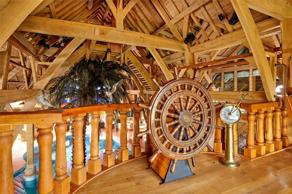Walk the plank in the £4 million mansion (RightMove)