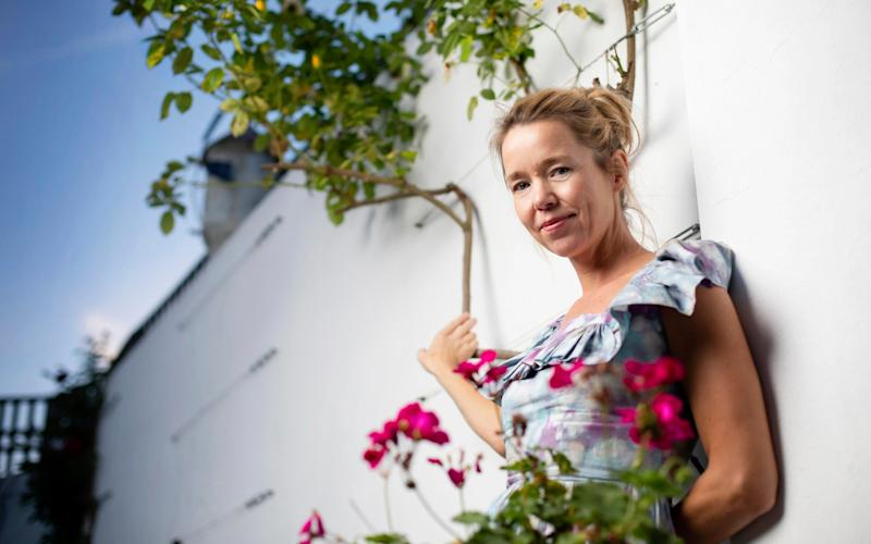Anna Maxwell Martin at her home in London - Rii Schroer