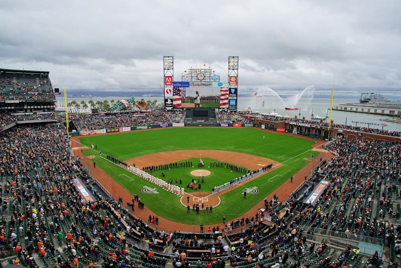 Image result for SF GIANTS Oracle Park