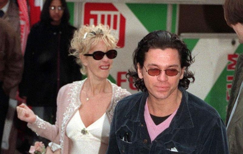 Michael had one daughter with the late Paula Yates. They are pictured here together in 1996. Source: Getty