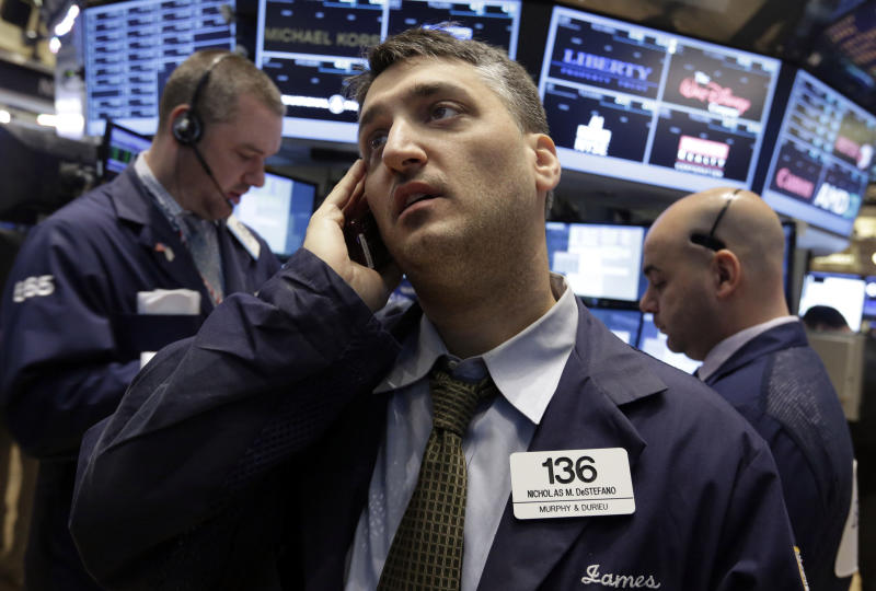 Stocks rebound to post gain for the week