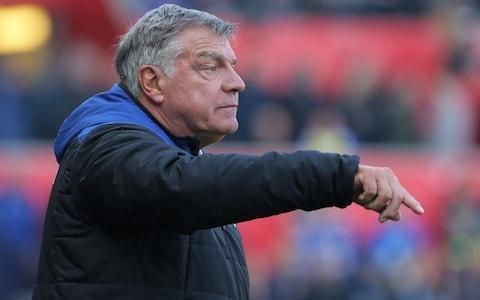 Allardyce has come in for criticism after taking over from Ronald Koeman - Credit: GETTY IMAGES