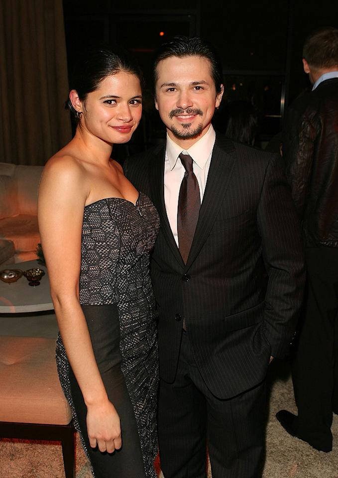 "<a href=""http://movies.yahoo.com/movie/contributor/1808458946"">Melonie Diaz</a> and <a href=""http://movies.yahoo.com/movie/contributor/1800247629"">Freddy Rodriguez</a> at the Los Angeles premiere of <a href=""http://movies.yahoo.com/movie/1809991685/info"">Nothing Like the Holidays</a> - 12/03/2008"
