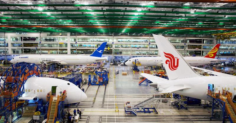 Boeing's final assembly facility in North Charleston, South Carolina.
