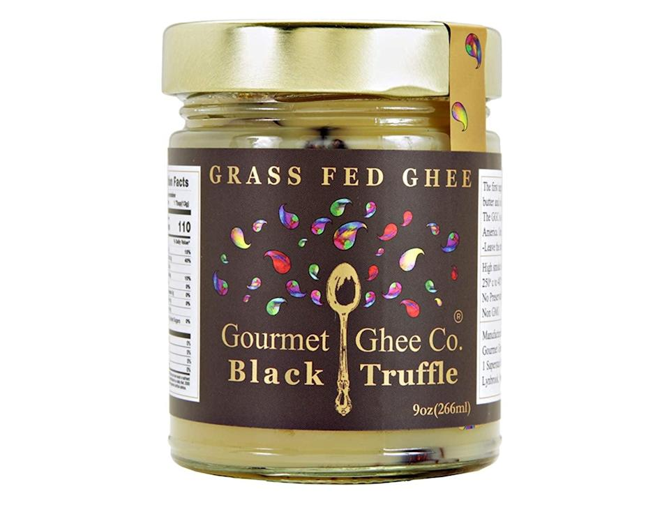 <p>The <span>The Gourmet Ghee Company Black Truffle Ghee Butter</span> ($15) will add a dash of fancy culinary flavor to your dishes.</p>