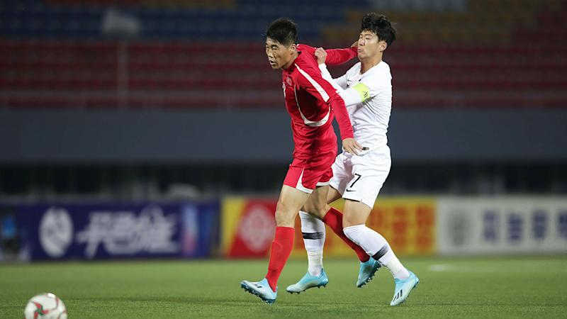 South Korea captain Son Heung-min claims his North Korean opponents were quite rough.