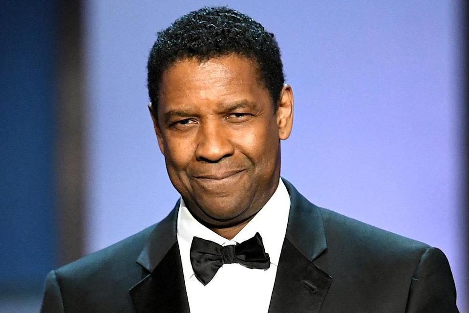 """<p>Denzel Washington won the Cecil B. DeMille Award in 2016, and <a href=""""https://people.com/awards/golden-globes-2016-denzel-washington-accepts-cecil-b-demille-award/"""" rel=""""nofollow noopener"""" target=""""_blank"""" data-ylk=""""slk:brought his family on stage"""" class=""""link rapid-noclick-resp"""">brought his family on stage</a> with him for his speech.</p>"""