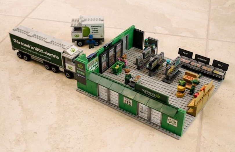 Woolworths bricks collectables