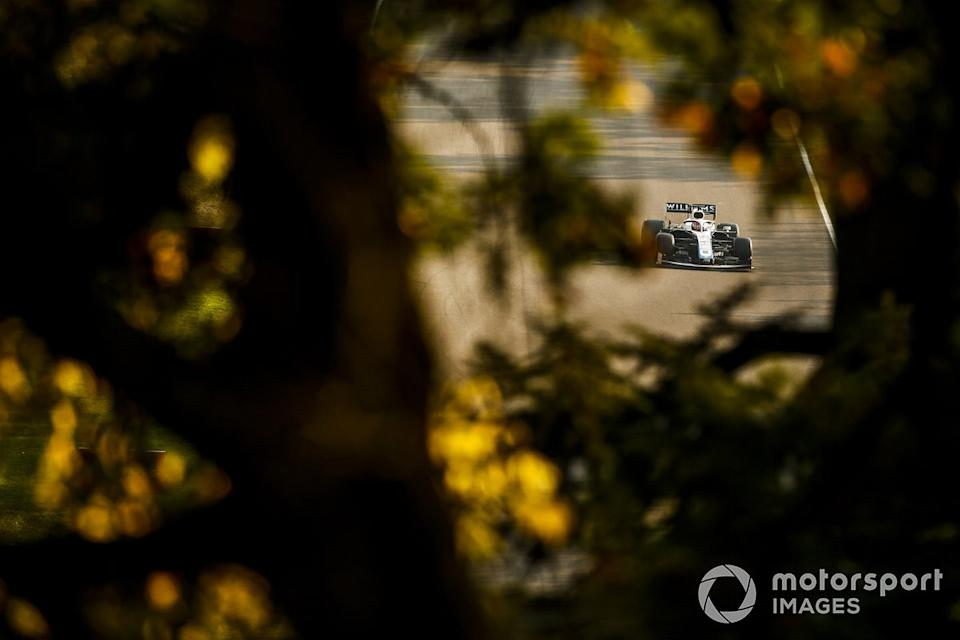 "George Russell, Williams FW43<span class=""copyright"">Andy Hone / Motorsport Images</span>"