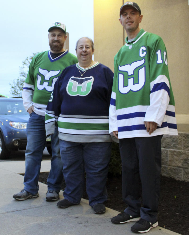 Whalers Fans Still Rooting, 22 Years After The Team's Move