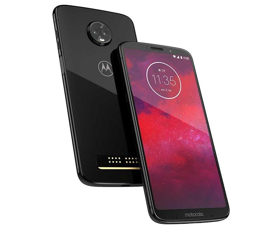 Motorola's Moto Z3 is the first 5G smartphone on the market. (Image: Motorola)