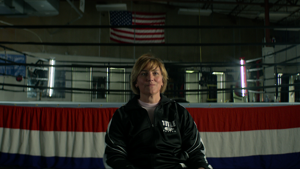 """Christy Martin in the """"Untold"""" docu-series. - Credit: COURTESY OF NETFLIX"""
