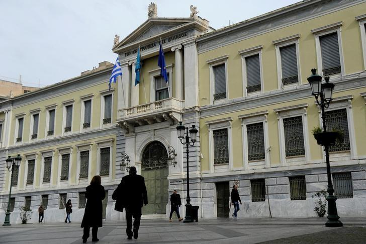 Greek central bank mulls 'bad bank' to clean up sour loans