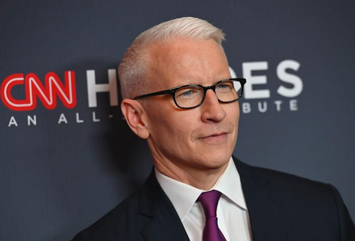 Anderson Cooper competed on