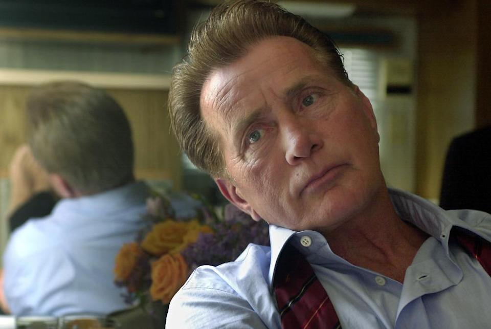 Head short of actor Martin Sheen in The West Wing Tv show