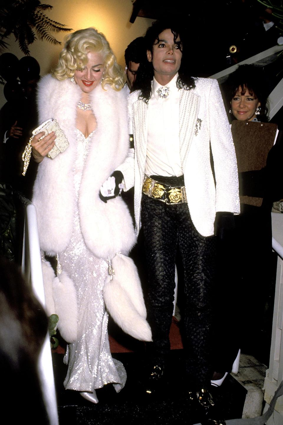 """<strong><h2>Madonna, 1991</h2></strong><br>Dripping in Old Hollywood glamour, there's nothing we'd rather see Madonna wearing to the 63rd Annual Academy Awards than this Bob Mackie ensemble.<br><br><em>Madonna in Bob Mackie.</em><span class=""""copyright"""">Photo: Ron Galella/WireImage/Getty Images. </span>"""