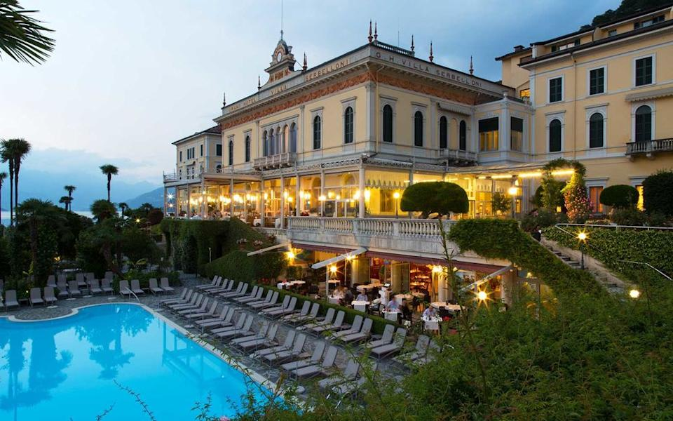 Courtesy of Grand Hotel Villa Serbelloni