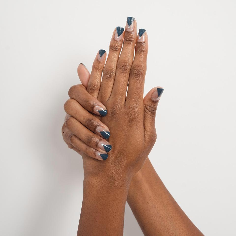 """<p>While salons were closed, we tried many, many at-home manicure options with varying results.</p> <p>If you struggle with polish, try these adorable custom-sized stick-on gels.</p> <p>Send photos of your nails to ManiMe, and they will tailor the size and shape of your gels. They are easy to apply and remove, and look just like high-end nail art from a fancy salon.</p> <p><a href=""""https://www.manime.co/shop"""" rel=""""nofollow noopener"""" target=""""_blank"""" data-ylk=""""slk:ManiMe at-home manicures and pedicures $15-$25"""" class=""""link rapid-noclick-resp"""">ManiMe at-home manicures and pedicures $15-$25</a></p>"""