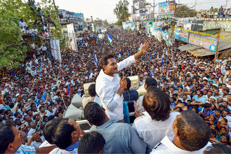 Andhra Pradesh All Set for Jaganmohan Reddy's Swearing-in Ceremony Tomorrow
