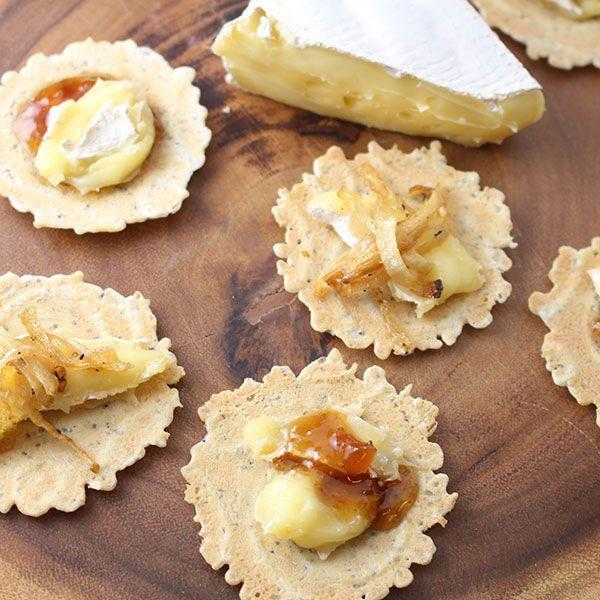 "<p>Store-bought crackers we can pass off as fancy pants appetizers.</p><p>Get the recipe from <a href=""https://www.delish.com/holiday-recipes/news/a41607/3-ingredient-holiday-appetizers/?visibilityoverride"" rel=""nofollow noopener"" target=""_blank"" data-ylk=""slk:Delish"" class=""link rapid-noclick-resp"">Delish</a>.</p>"