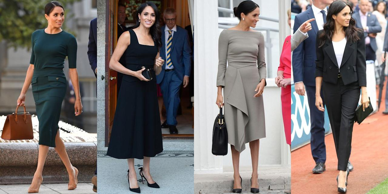 <p>Jessica Mulroney is the force behind all those outfit changes. </p>