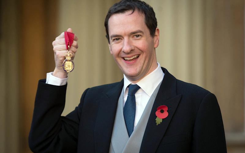 George Osborne, who has taken on a number of jobs alongside his role as an MP - Credit: WPA