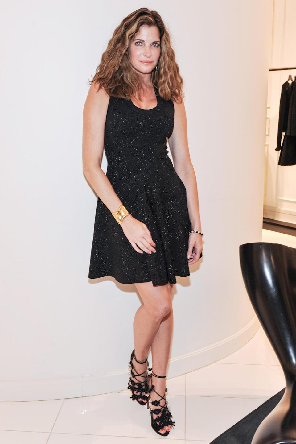 <p>She's dabbled in acting, appearing in the 2000 film <em>Pollock</em> and on an episode of <em>Law & Order: Criminal Intent</em>. Seymour has also worked as a contributing fashion editor at <em>Interview</em> and continued to model, most recently for Ferragamo, Hermes, and Valentino.</p>