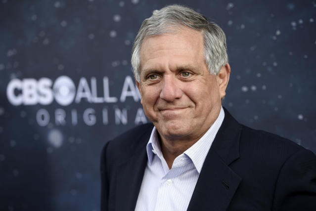 Les Moonves, chairman and CEO of CBS Corporation. (Photo by Chris Pizzello/Invision/AP)