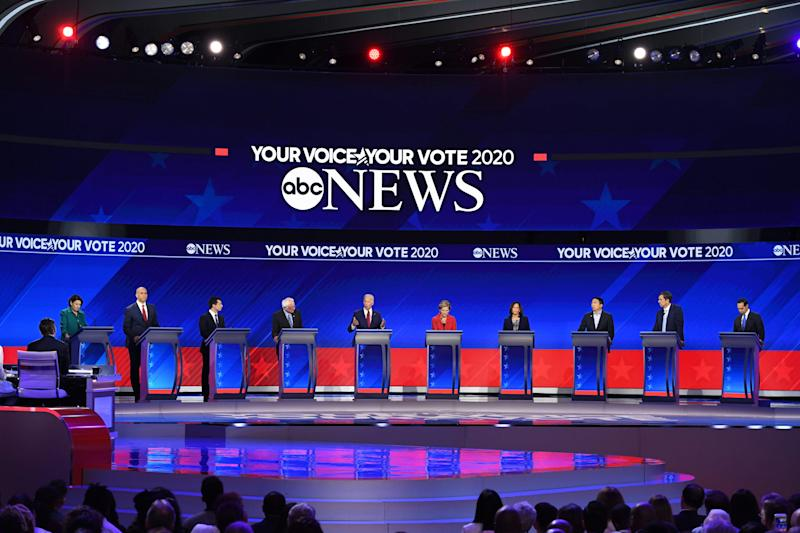 ABC says 14 million viewers watched the third Democratic presidential debate