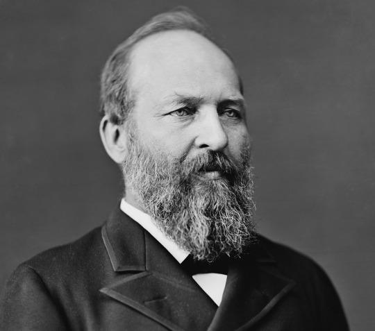 James Garfield, circa 1870-80. (Photo: Library of Congress)