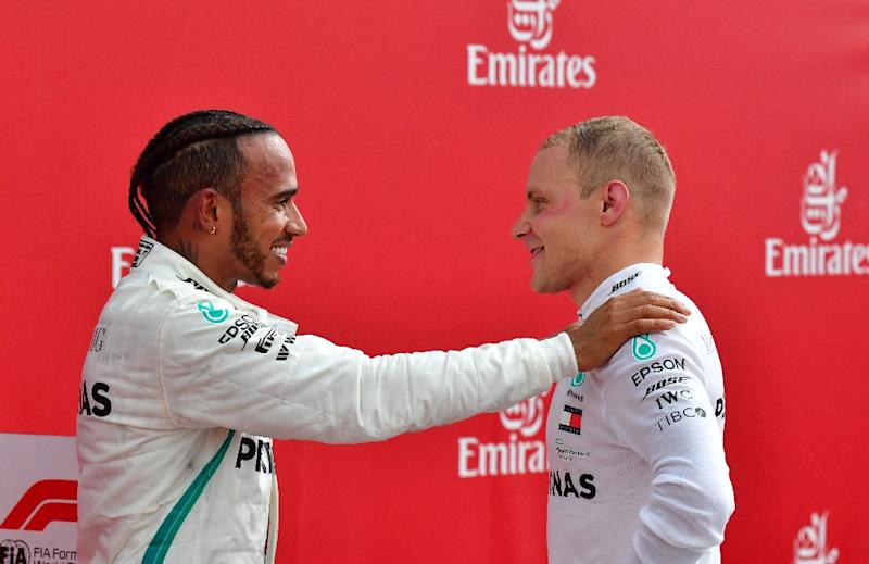Valtteri Bottas said he understood why he had to allow Mercedes team-mate Lewis Hamilton to take the top step on the podium at the German Grand Prix on Sunday