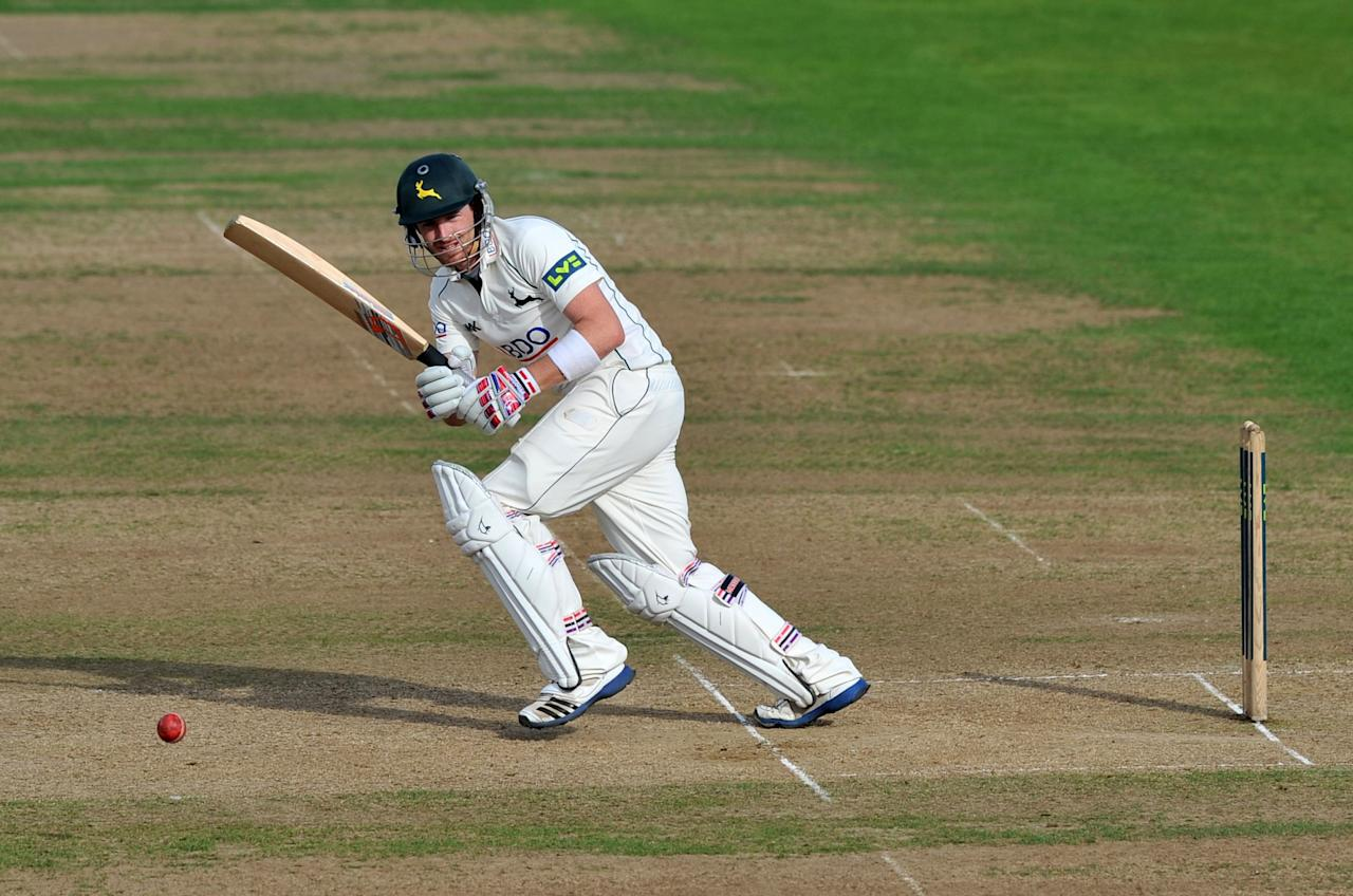 Norringhamshire's Rikki Wessels bats during the LV= County Championship, Division One match at Trent Bridge, Nottingham.