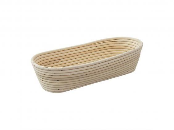 A breadbasket will help keep the shape of your dough (Express Catering)